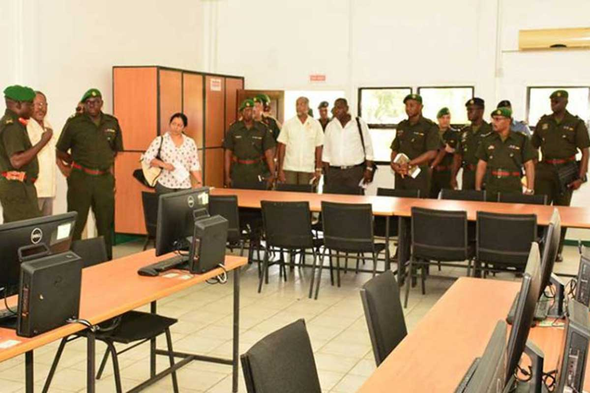 the guyana defence force in national